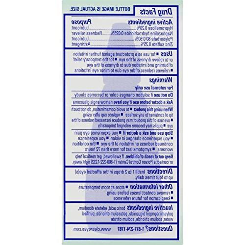 Clear | 7 Relief Formula Eye Drops 0.5 FL OZ Pack 3