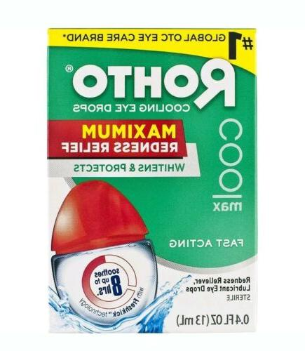 Rohto Cool Redness Relief Drops, Count