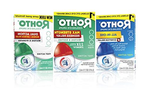 Rohto Cool Max Redness Relief Cooling Drops, Count