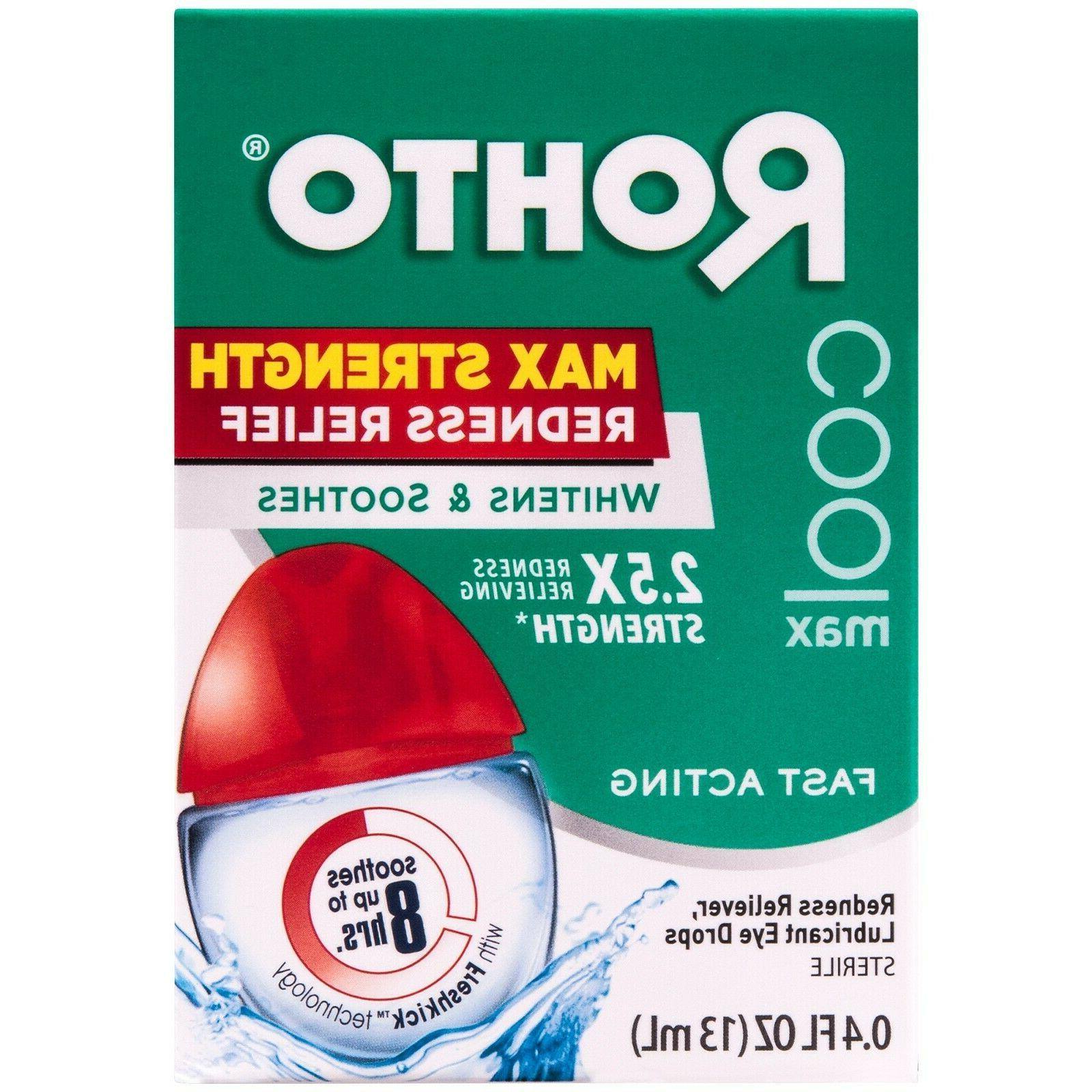 cool max strength redness relief eye drops