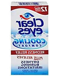 Clear Eyes Cooling Comfort- Redness Relief, 0.5 Ounce by Cle