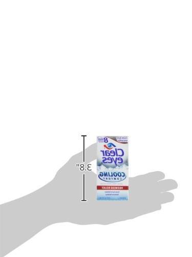 Clear Eyes Cooling Eye Drops, 0.5 oz