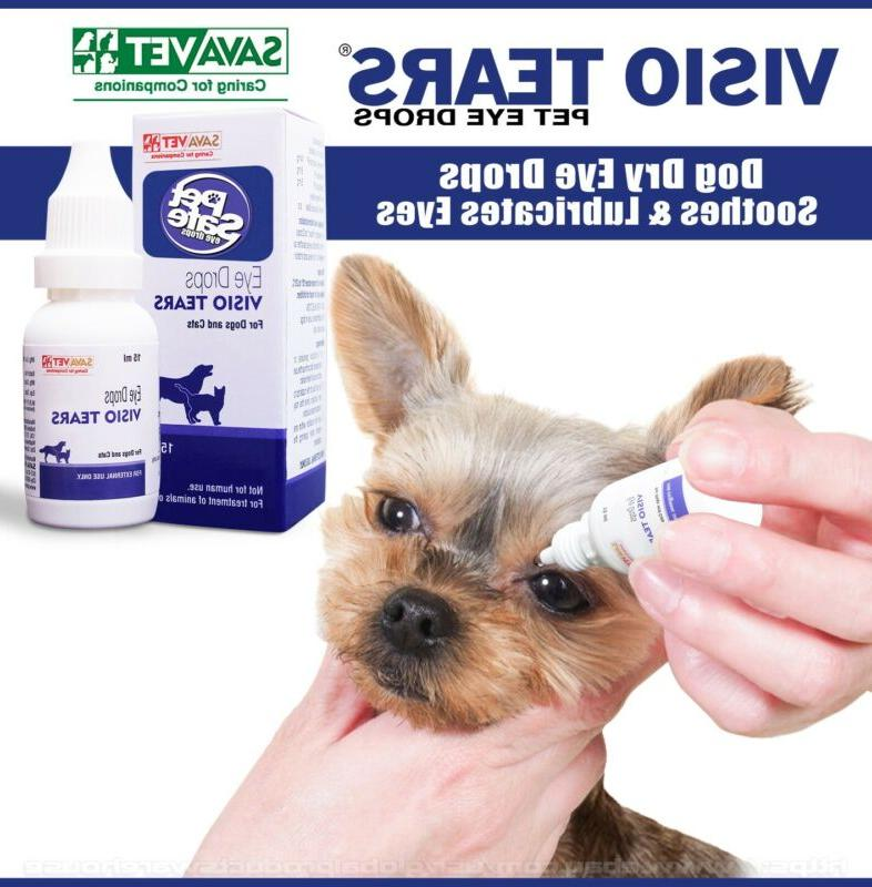 dog or cat dry eye drops artificial
