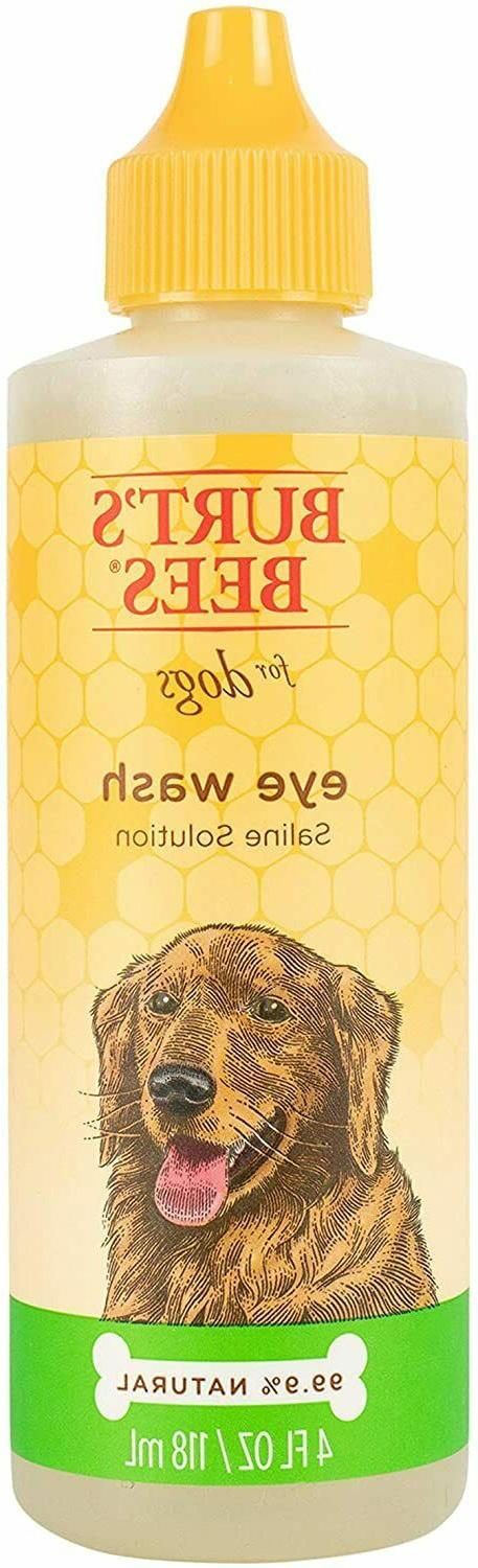 Dogs Eye Wash with Solution Wash Drops for 4oz PACK