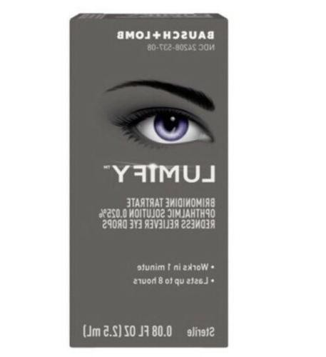 Lumify By Bausch & Lomb-Brand New In Box Sealed!