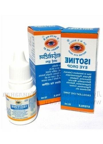Isotine Eye Herbal and & worldwide Vials