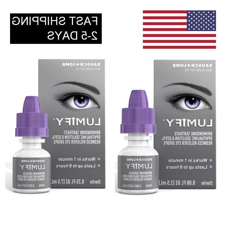eye drops redness reliever 0 08 fl