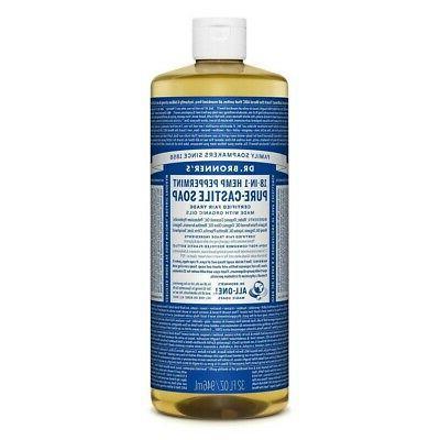 Dr. Bronner's Fair Trade & Organic Castile Liquid Soap -