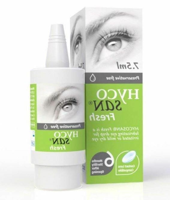 Hycosan Fresh Preservative-Free Lubricating Irritated Mild D