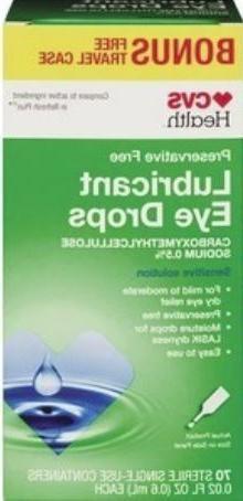 GenTeal, Refresh, Eye Drops CVS Lubricant 30, 36, 60, 70 Sin