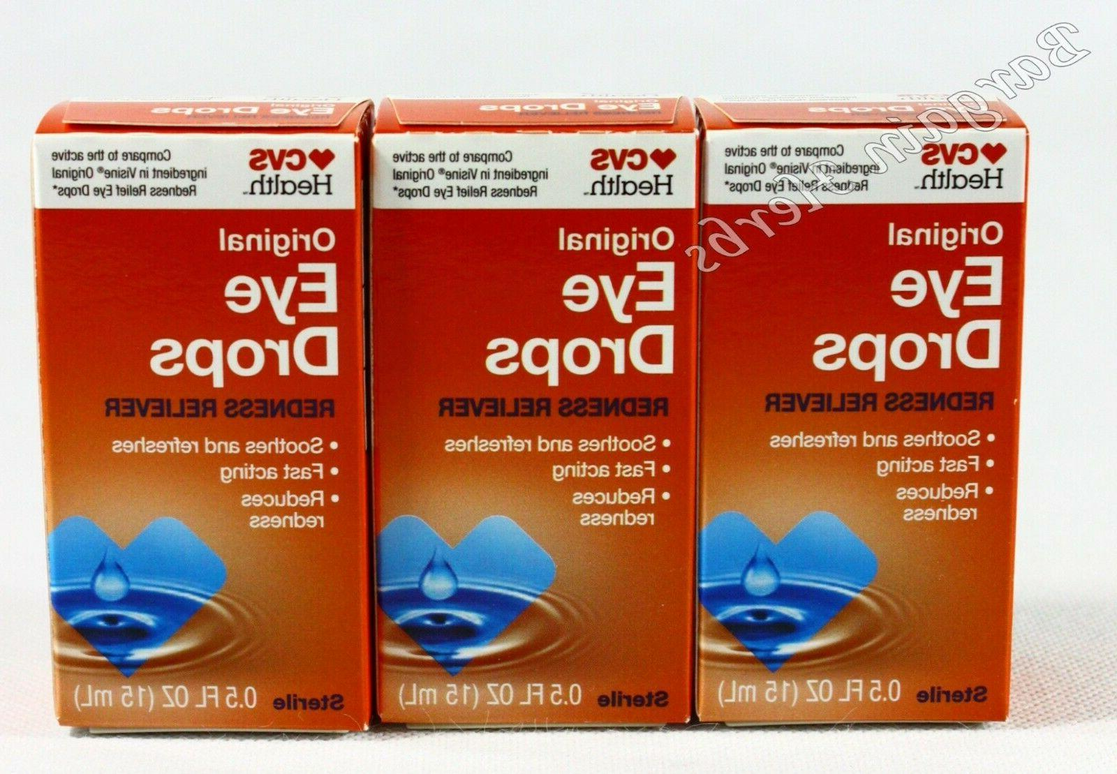 health advanced eye drops lubricant and redness