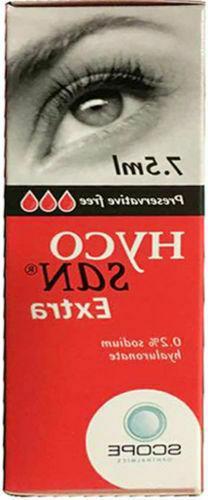 Hycosan Extra Eye Drops 7.5ml -  Red