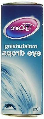 I-Care ICMD10ml Moisturising Eye Drops, Contact Lens