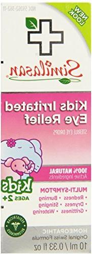 Similasan Kids Irritated Eye Relief Drops, 0.33 Ounce by Sim