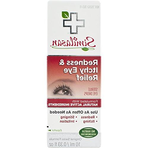 Similasan Redness & Itchy Eye Relief Drops .33-Ounce