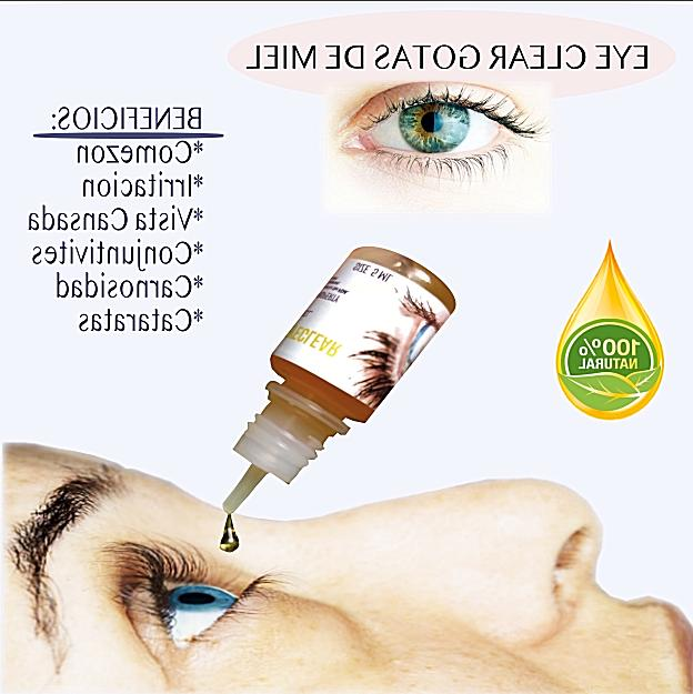 LA GOTAS DE MIEL VIRGEN PARA OJOS HONEY EYE DROPS 100%ORIGIN