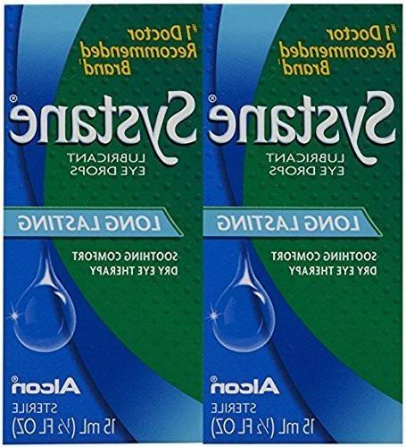 long lasting lubricant eye drops