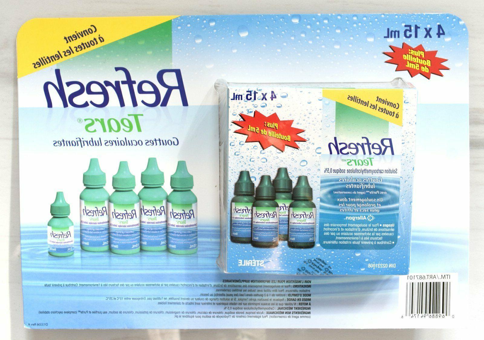 Refresh Tears Lubricant Drops Bonus, ml/Per Pack