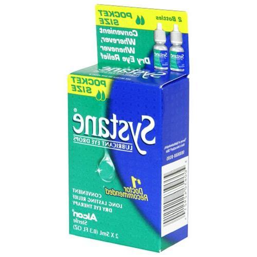 Systane Lubricant Eye Drops, 2 - 0.3 fl oz  bottles