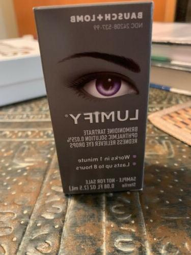 lumify eye drops 2 5ml by bausch