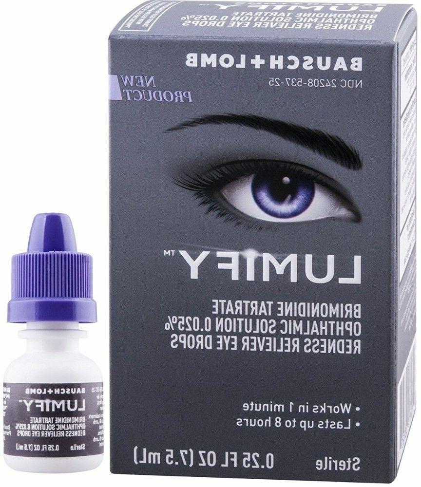 Lumify Redness Reliever Eye Drops 12/2019
