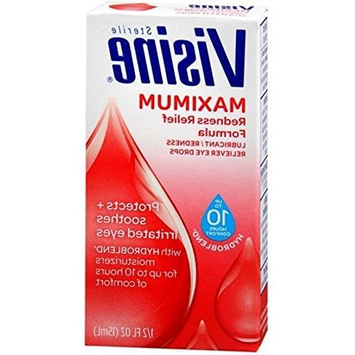 maximum redness relief