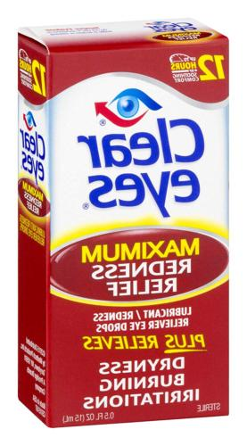 Clear Redness Eye Drops     Pack 3