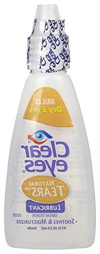 Clear Eyes Mild Eyes Tears Drops-0.5
