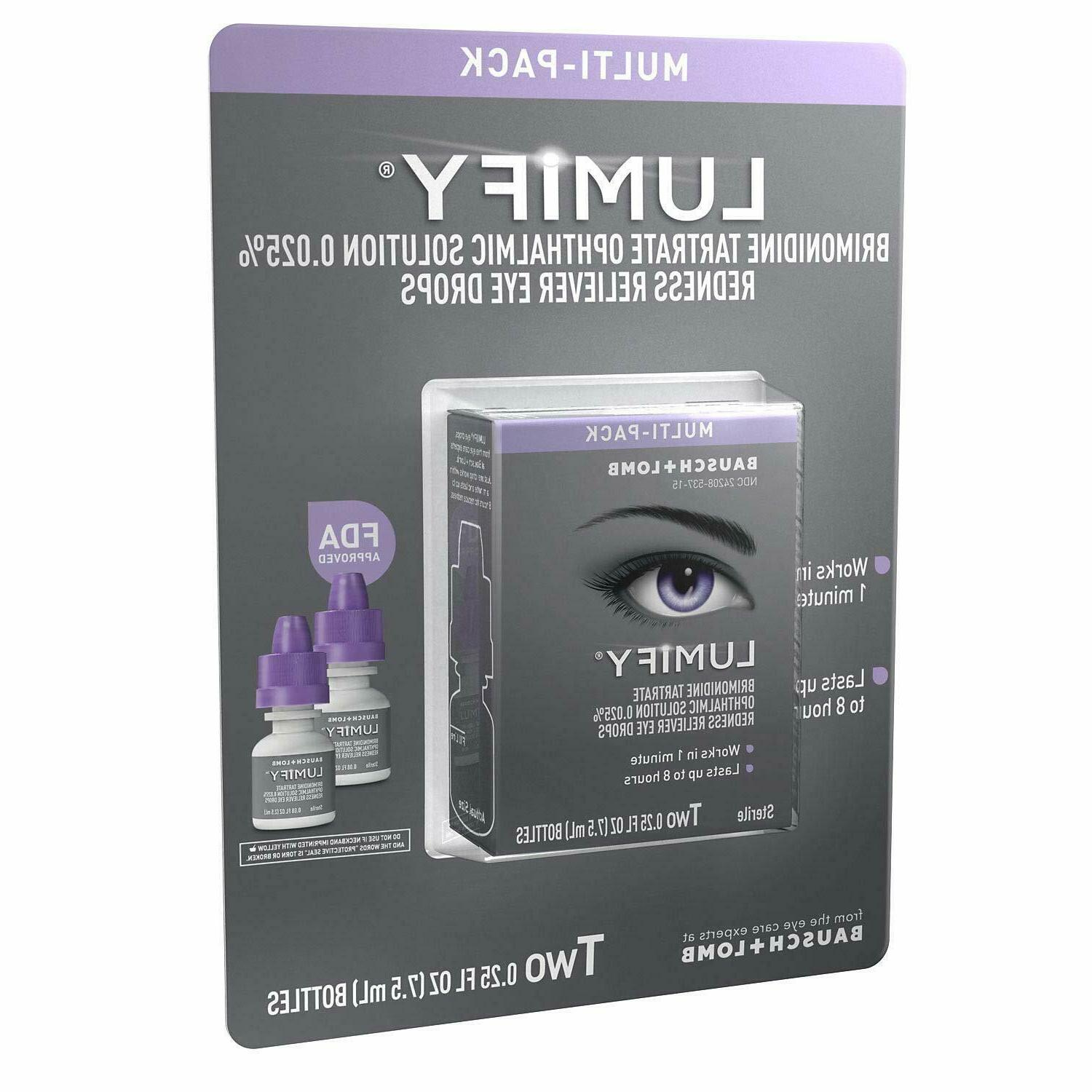 Multi-Pack LUMIFY Eye Drops, oz