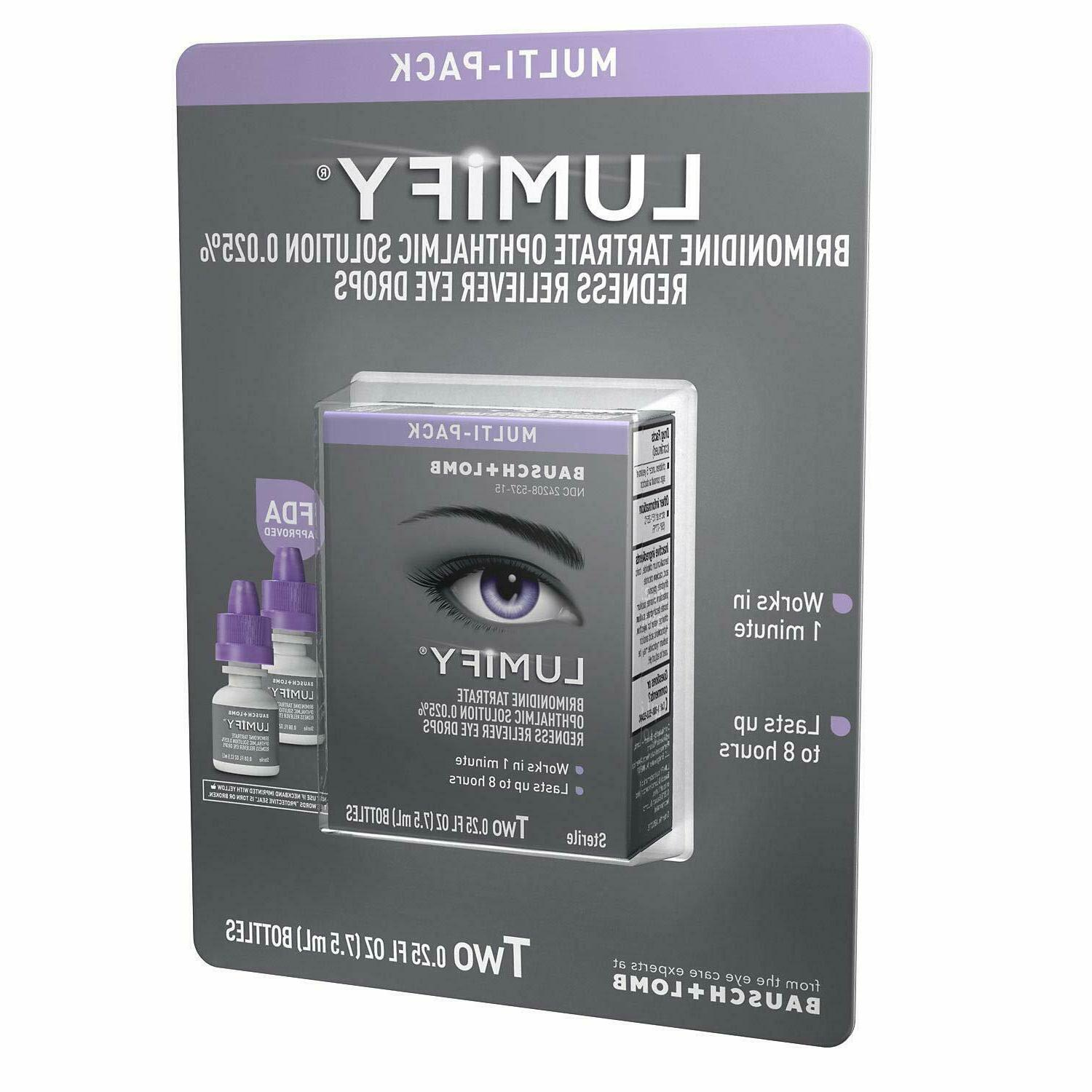 multi pack redness reliever eye drops 7