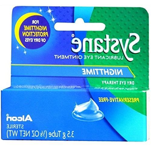nighttime lubricant eye ointment