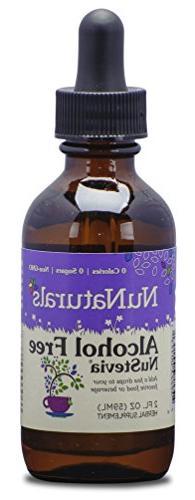 NuNaturals Nustevia Alcohol Free Stevia Liquid - A Natural S