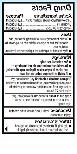Refresh Optive Lubricant Eye Drops, 0.33 oz