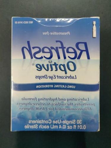optive sensitive preservative lubricant eye