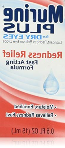 Murine Plus Drops for Lubricants Reliever 0.5