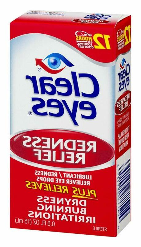 Clear Eyes,Redness Eye Pack Of 3