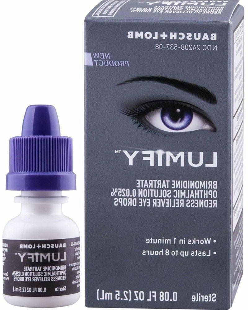 redness reliever eye drops 0 08 oz