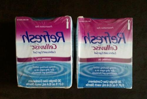 refresh celluvisc eye gel 30