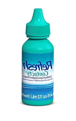 Refresh Contacts Contact Comfort 0.4 Fluid Ounces