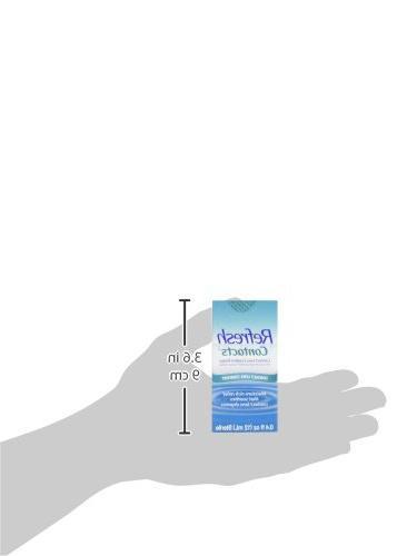 Refresh Contacts Comfort Drops, Fluid