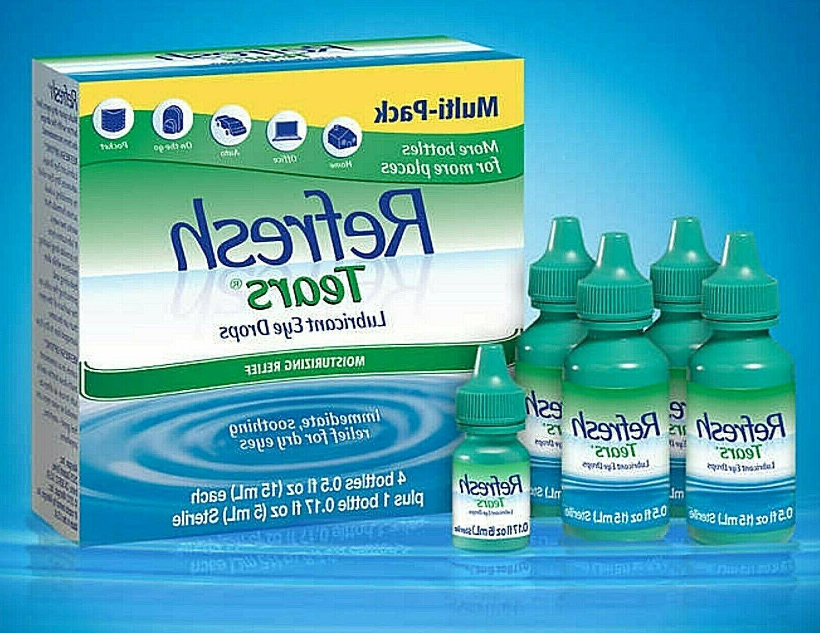 Refresh Eye Drops 5 Bottle Multi-Pack 65ml