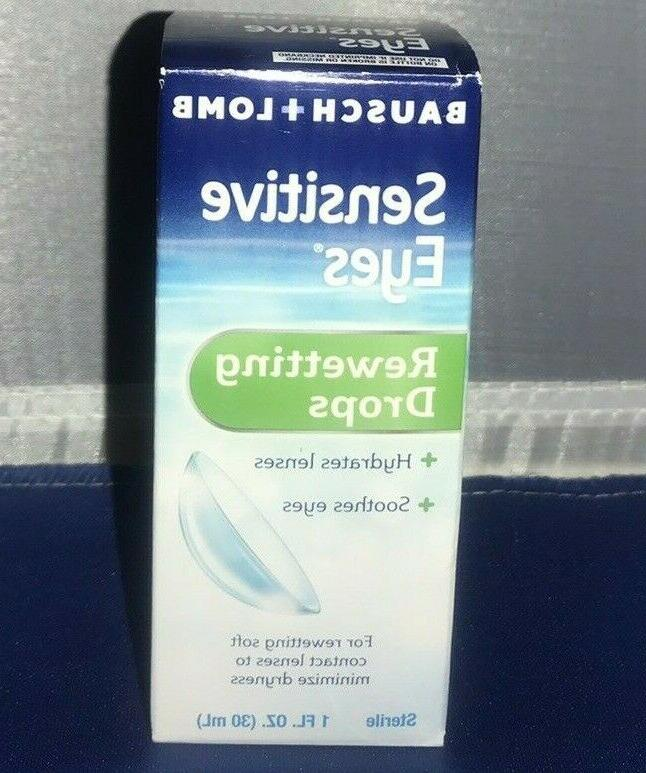 Bausch & Lomb Sensitive Eyes Rewetting Drops 1 oz