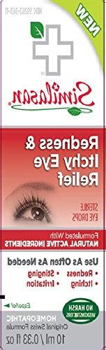 Similisan Redness & Itchy Eye Relief Drops 10 ml - 4 Pack