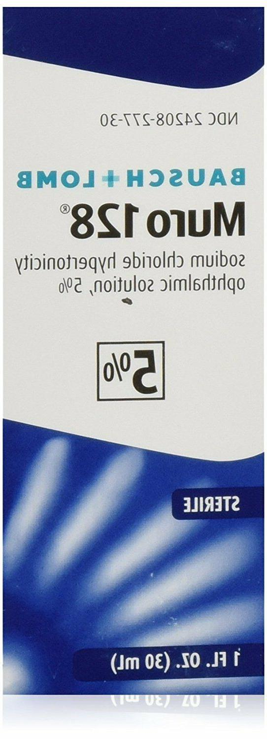 Muro 128 5% Sterile Ophthalmic Solution 1 fl oz