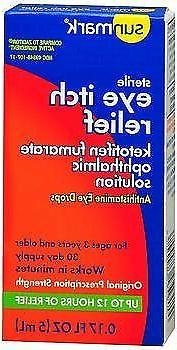 sunmark eye itch relief antihistamine drops 0
