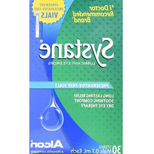 lubricant eye drops vials 28