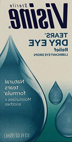 Visine Relief Drops, 0.5