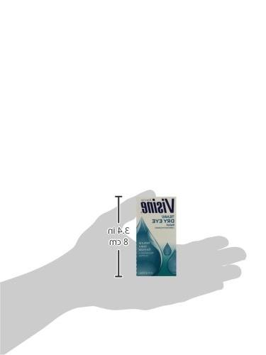 Visine Tears Dry Relief Ounce - 2