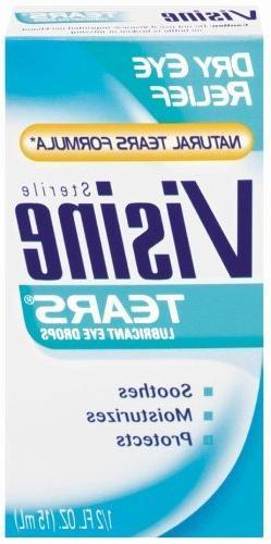 Visine Dry Eye Relief Eye Drops 0.50 oz