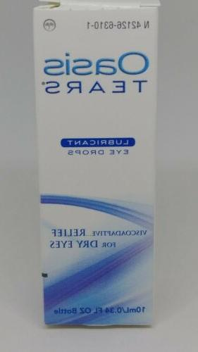 Oasis TEARS Lubricant Eye Drops Bottle 10mL/0.34oz